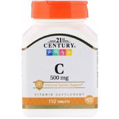Витамин C (110 таб, 500 мг)