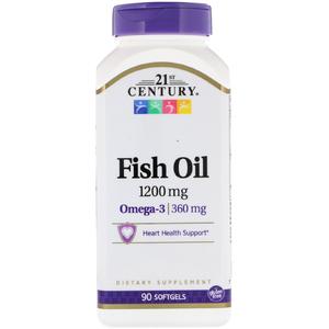 Омега-3 (90 капс, 1200 мг, 30%)