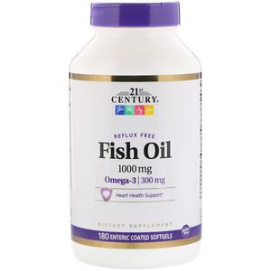 Омега-3 кишечнорастворимая оболочка (180 капс, 1000/300 мг)