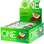 One Brands (белок 20 г, углеводы 22 г, жир 7, масса 60 г)