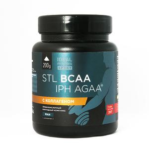 Пептидные BCAA IPH AGAA с коллагеном (200 г)