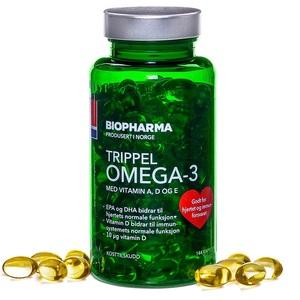 Омега-3 + A + D3 + E (144 капс, 55%, Норвегия)