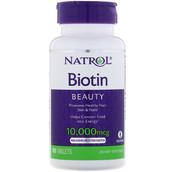Биотин (100 таб, 10000 мкг)
