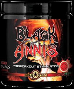 Black Annis с эфедрой и геранью (300 г, 50 порций)