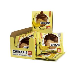 Протеиновое печенье CHIKAPIE (белок 15 г, углеводы 2.6 г, жир 8.9 г, масса 60 г)