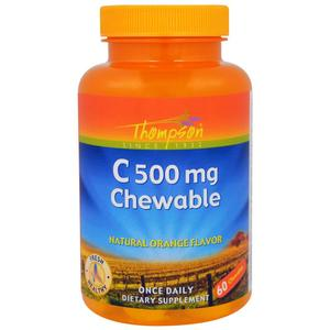 Витамин C (60 цитрусовых табл по 500 мг)