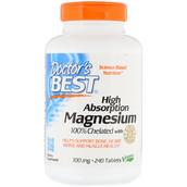 Магний хелатный (240 таб, 100 мг) - мышечная выносливость