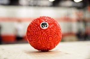 Мячик массажный рифленый