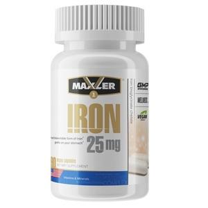 Железо в хелатной форме (90 капс, 25 мг)