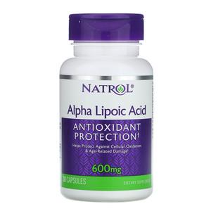 Альфа-липоевая кислота (30 капс, 600 мг)