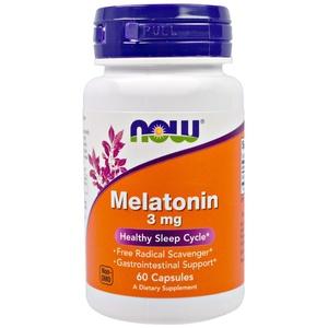 Мелатонин (60 капс, 3 мг) - гормон сна