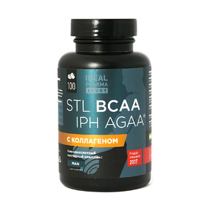 Стимулятор роста мышечной ткани BCAA IPH AGAA (100 таб, 1000 мг)