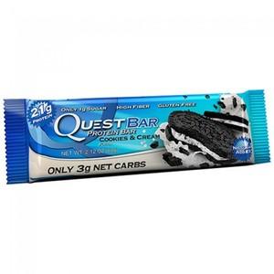 QuestBar (белок 21 г, углеводы 5 г, жир 6 г, масса 59 г)