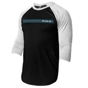 Rogue Lines 3/4 Sleeve (Black/White)