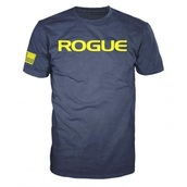 Rogue Basic Shirt Navy/Yellow