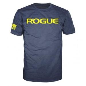 Rogue Basic Shirt Navy/Yellow