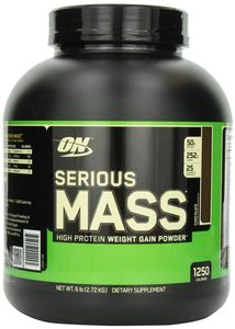 Serious Mass (простой гейнер) - 2720 г